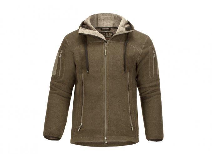 Fleecová bunda CLAWGEAR Milvago Fleece Hoody - RAL 7013